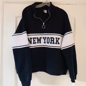 New York Pullover Half-Zip